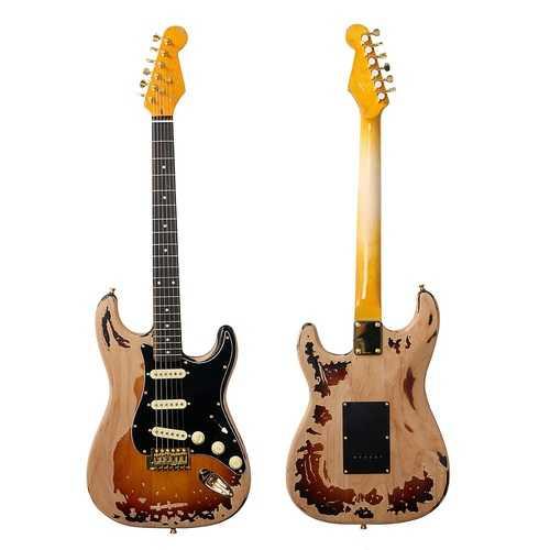22 Frets SRV Electric Guitar Eged Hardware Alder Body Rosewood Fingerboard Music Instrument