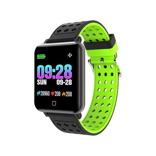 Bakeey M19 1.3inch Training Modes Heart Rate Blood Pressure Monitor Fitness Tracker Smart Wristband