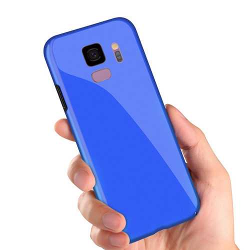 Bakeey Piano Paint Glossy Hard PC Protective Case for Samsung Galaxy S9