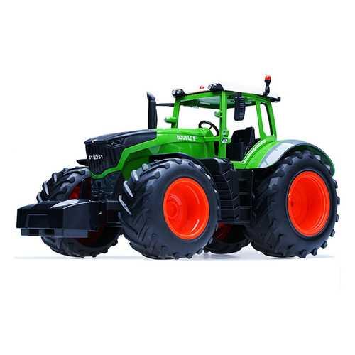 Double E E351-001 RC Car Truck Farm Tractor 2.4G Trailer Dump Rake 4 Wheel Engineer Vehicle Toys