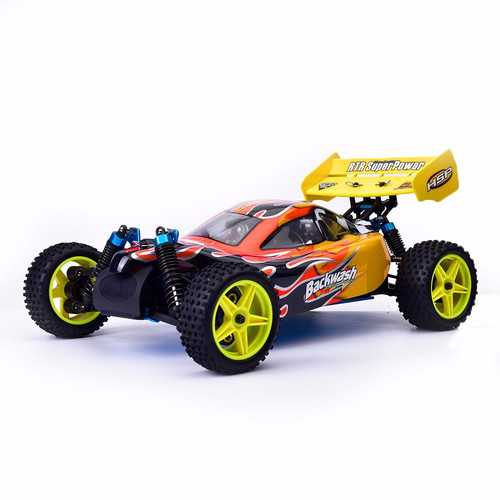 HSP for Baja 94166 1/10 2.4G 4WD RC Car Off-road Truck 18cxp Engine RTR Toy Random Shell