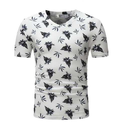 Men's Comfortable Casual V-neck T-Shirts
