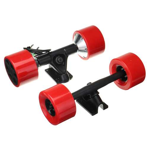 90mm Dual 6364 Hub Brushless Motor Drive Kit Parts For Electric Skateboard Longboard