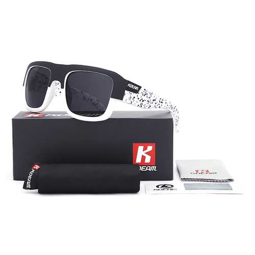 KDEAM KD03X Polarized Sunglasses Men Women UV400 Square Frame Sun Glasses Active Eyewear