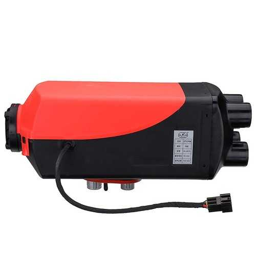 12V 24V 3KW Single Hole Black LCD Digital Switch Parking Air Heater Car Heater