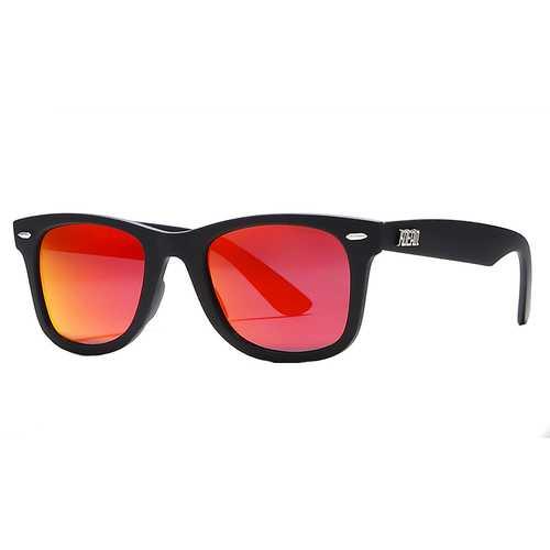 KDEAM KD2140F-50 Polarized Sunglasses Men Women UV400 Retro Square Frame Sun Glasses for Outdoor Outdoor Golf Running Driving