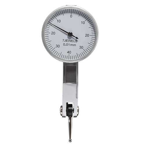 0-0.8 0.01 Precision Lever Dial Test Indicator Gauge Portable Scale Meter Tool