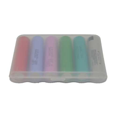 1Pcs B6 Battery Case Battery Storage Box Battery Holder for 6Pcs Unprotected 18650 Batteries