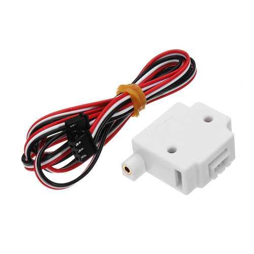 Lerdge® White 1.75mm Filament Material Run Out Detection Module Sensor For 3D Printer Parts