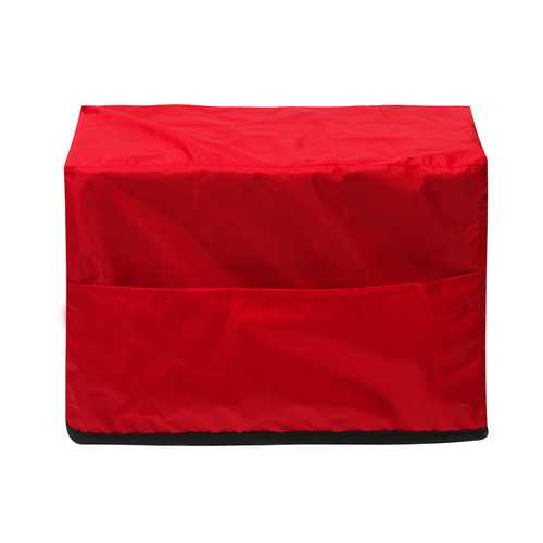 13.8x5.1x9 inch MIG Welding Machine Cover for Lincoln MIG Welding Power Mig 140/180/210 Red