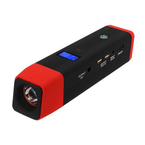 iMars JX26 20000mAh 12V Car Jump Starter Pack Booster Charger Battery Power Bank Kit