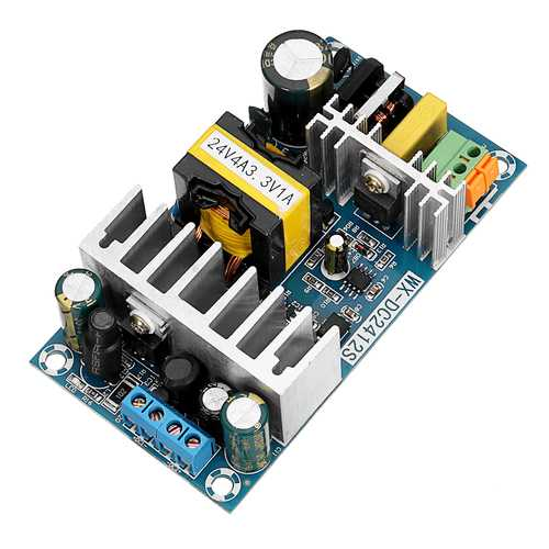 AC-DC 24V4A 3.3V1A Dual Switch Power Supply Module Isolation Dual Output Power Supply Bare Board