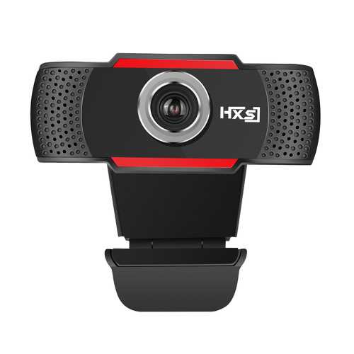 HXSJ S80 1080P USB Webcam 30fps Built-in Microphone Adjustable Degrees Computer Camera