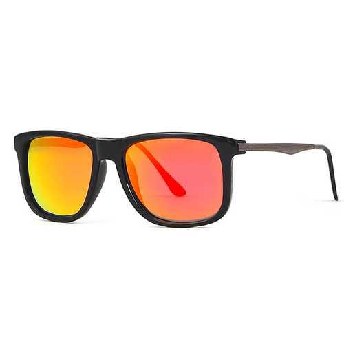 KDEAM KD9022 Polarized Sunglasses Men Women Sun Glasses Vintage Outdoor Mirror Lens UV400 With Case