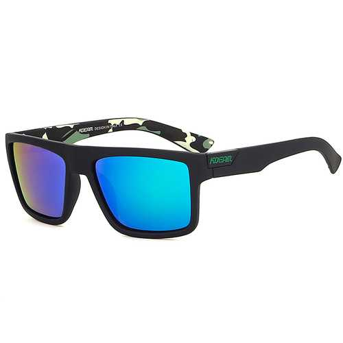 KDEAM KD05X Rectangle Polarized Sunglasses UV400 Men for Outdoor Golf Running Driving Fishing