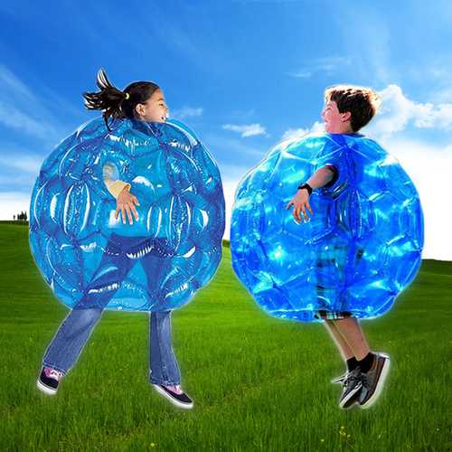 90cm PVC Inflatable Toy Body Bubble Toy Ball Bumper Ball Football Buddy Kid Outdoor Play