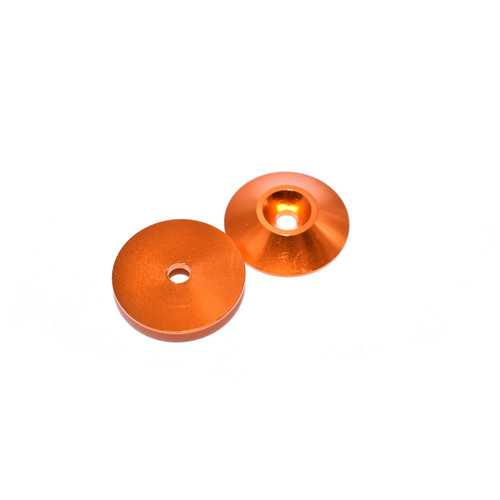 10 PCS AuroraRC M3 Countersunk Screw Conical Grommet Gasket Washer for RC FPV Racing Drone