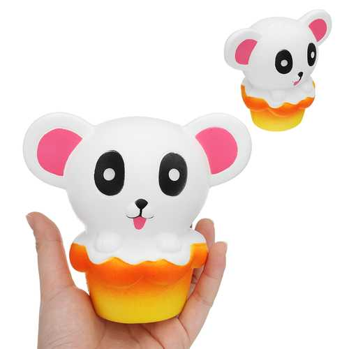 Bear Cake Squishy 11*12.5*8CM Slow Rising Cartoon Gift Collection Soft Toy