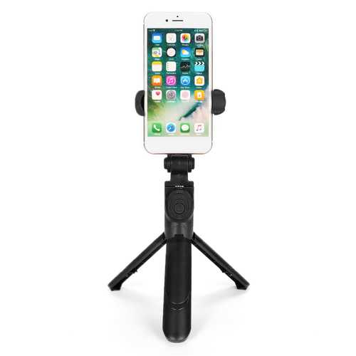bluetooth Extendable Handheld Wireless Selfie Stick Tripod Remote Shutter Holder for Mobile Phone
