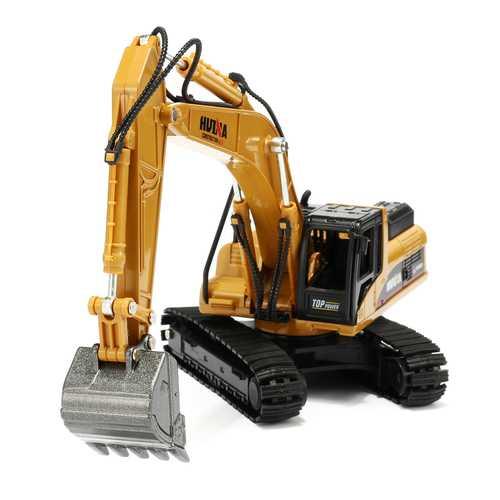 1:50 Alloy Excavator Toys Engineering Vehicle Diecast Model Metal Castings Vehicles
