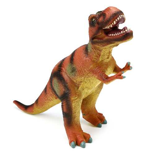 "Large 21"" Soft Stuffed Rubber Dinosaur T-Rex Tyrannosaurus Play Toy Animal Figures Diecast Model"