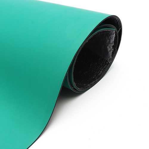 30x100cm Green Desktop Anti Static ESD Grouding Mat 2mm Thick For Electronics Repair