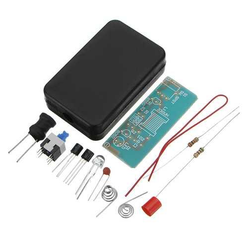 10pcs 5MM LED Flashlight Convenient Light Kit Simple LED Boost Drive DIY Electronic Kit