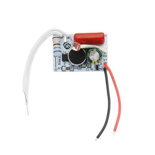 30pcs LED Corridor Light Intelligent Sound And Light Control Power Supply 3-9W Bulb Light Switching Power Supply Module