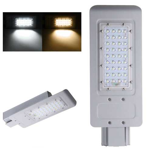 40W 36 LED Street Road Light Waterproof Outdoor Yard Aluminum Industrial Lamp Floodlight AC100-240V