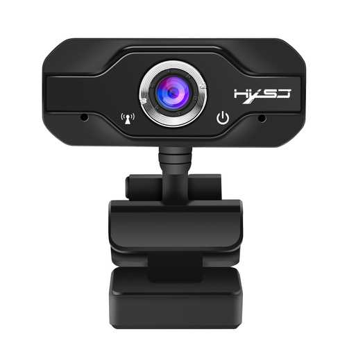 HXSJ S60 1080P 1920*1080 CMOS Sensor Webcam Built-in Microphone Adjustable Angle for Laptop Desktop