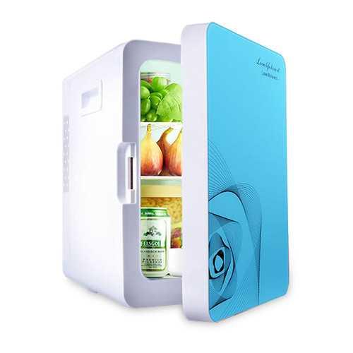 20L Portable Mini Car Refrigerator Cooler Warmer Dual-use Fridge Box for Car Home