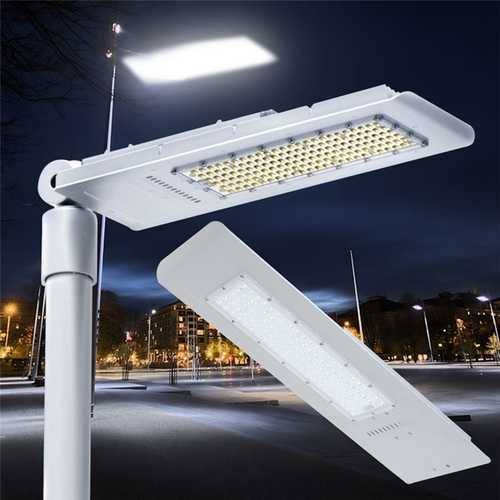 150W 144 LED Street Road Light Waterproof Outdoor Yard Aluminum Lamp Floodlight AC100-240V