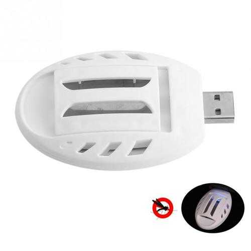Portable Electric USB Mosquito Repellent Heater Anti Mosquito Killer Outdoor Indoor Insect Mosquito Killer Tablet Heater Pest Fly Insect Heater for Home or Travel
