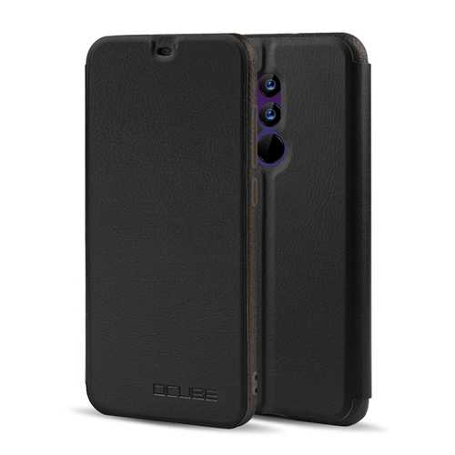 OCUBE Luxury Stand Flip PU Leather Protective Case Cover For UMIDIGI Z2/ UMIDIGI Z2 PRO