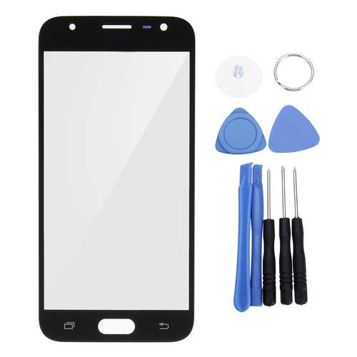 Front Glass Touch Screen Replacement & Tools Kit for Samsung Galaxy J3 2017