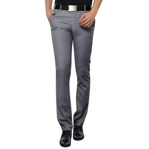 Men's Wrinkle-free Slim-fit Feet Business Casual Suit Pants