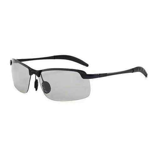 Men Discolor Driving Polarized Sunglasses