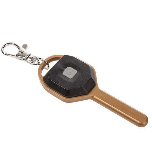 Key-shaped Brightness Multifunction Mini COB Light EDC Keychain Flashlight Open Door Fishing Camping