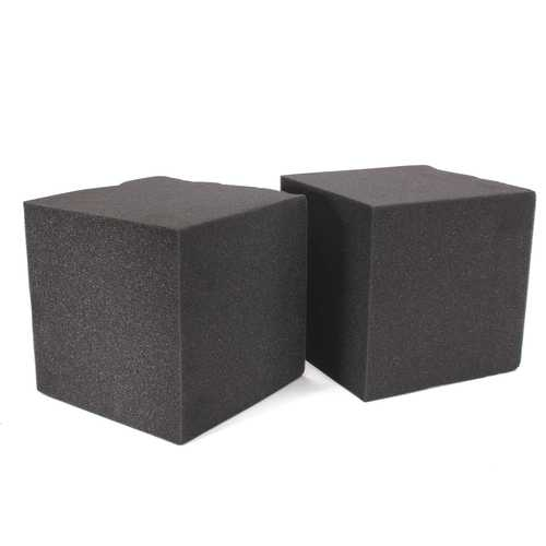 2Pcs 20X Soundproof Foam Absorption Cube Studio Acoustic Music Room Treat 20x20x20cm