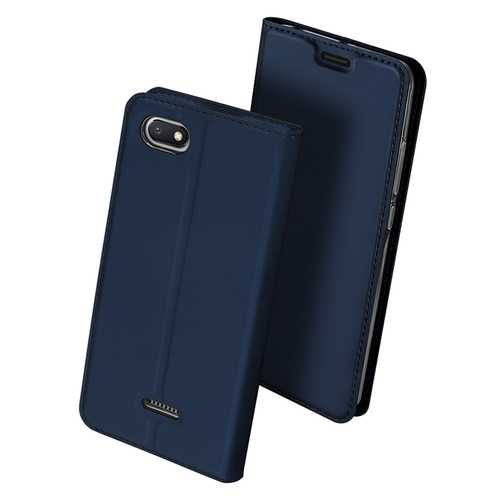 Dux Ducis Flip Shockproof Full Cover PU Leather Protective Case For Xiaomi Redmi 6A