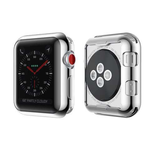 Bakeey Plating TPU Watch Protective Case For Apple Watch Series 3 38mm/42mm