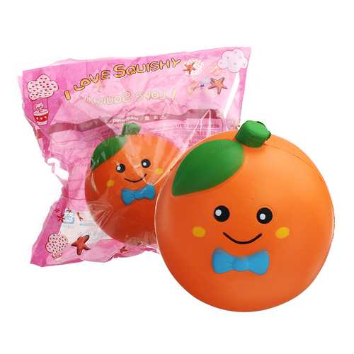 10cm Fruit Orange Squishy Slow Rising With Packaging Collection Gift Soft Toy