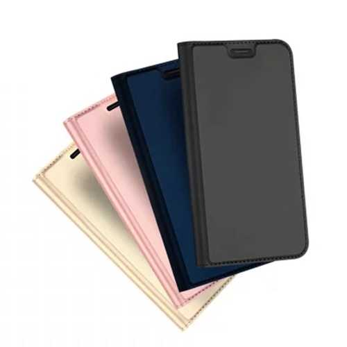 Dux Ducis Flip Magnetic Card Holder Shockproof PU Leather Protective Case For Xiaomi Redmi 6