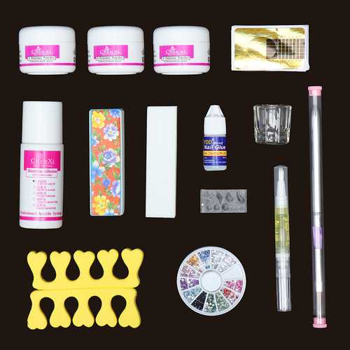 14 Acrylic Powder Nail Art Set