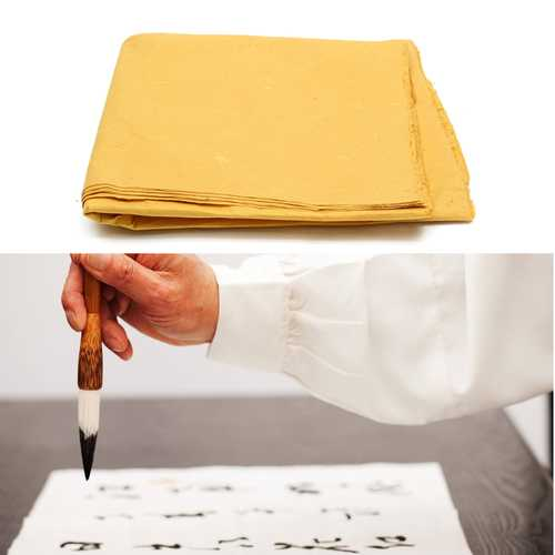 10Pcs Chinese Rice Paper Long Fiber Xuan Rice Paper For Calligraphy Painting Paper Sheets