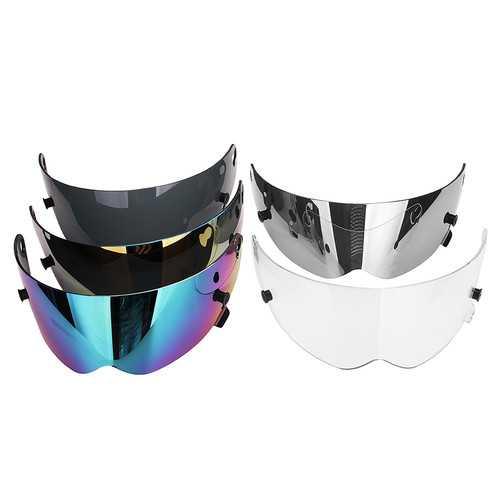 Universal Motorcycle Full Face Helmet Visor Lens Motorbike Bike Scooter ATV