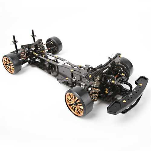 D1 Grand Prix DRR-01 1/10 CNC Metal T700 Carbon Fiber 423*190mm Rear Drive Drift Frame Rc Car Parts