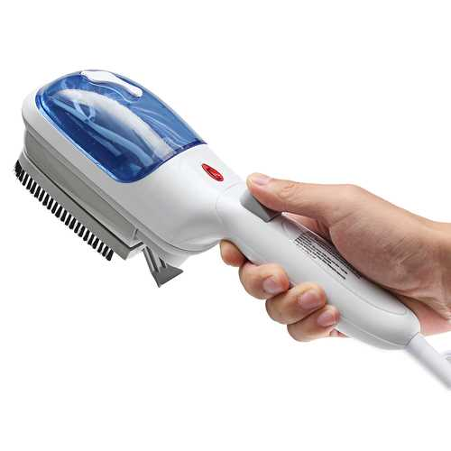 Portable Travel Handheld Iron Clothes Steamer Garment Steam Carbon Brush Hand Held