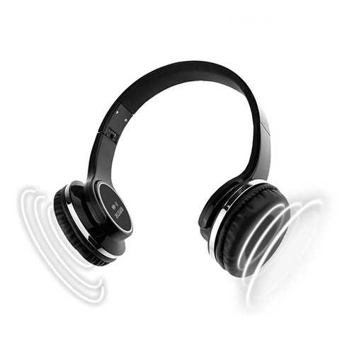 HOPESTAR H666 2 in 1 bluetooth Headphone Speaker TF Card FM Radio Aux-in Headset with Mic