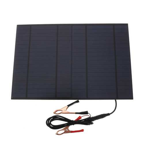 10W 18V Solar Panel Module Battery Charger Power Charging For RV Boat Car Home